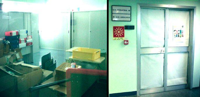 L'ospedale Perrino di Brindisi è allo sbando: chiusa anche la sala cinema donata dal M5S per i piccoli pazienti di pediatria