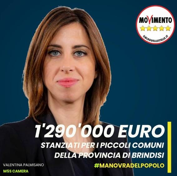 DAL GOVERNO 1.290.000 EURO AI PICCOLI COMUNI DELLA PROVINCIA DI BRINDISI
