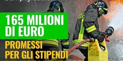 aumento stipendi vigili del fuoco